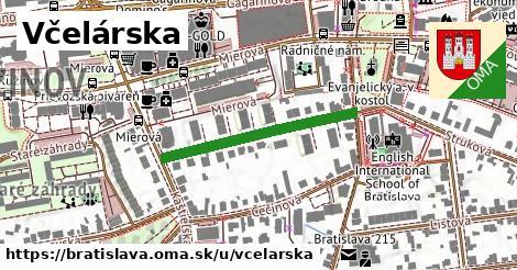 ilustrácia k Včelárska, Bratislava - 292m