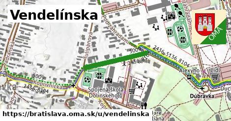 ilustrácia k Vendelínska, Bratislava - 229m