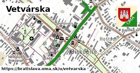 ilustračný obrázok k Vetvárska, Bratislava