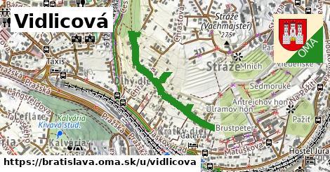 ilustračný obrázok k Vidlicová, Bratislava