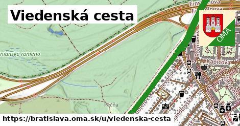 ilustrácia k Viedenská cesta, Bratislava - 5,8km