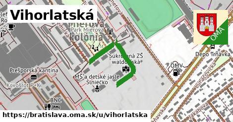 ilustračný obrázok k Vihorlatská, Bratislava