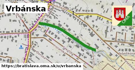 ilustračný obrázok k Vrbánska, Bratislava