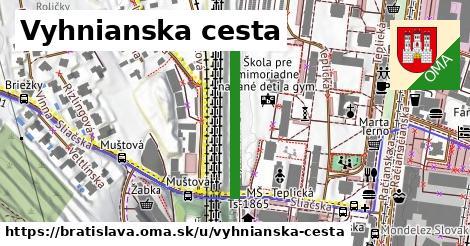 ilustračný obrázok k Vyhnianska cesta, Bratislava