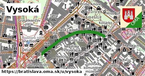 ilustrácia k Vysoká, Bratislava - 366m