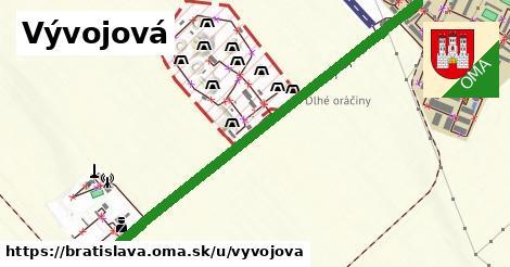 ilustrácia k Vývojová, Bratislava - 2,5km