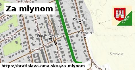ilustrácia k Za mlynom, Bratislava - 397m