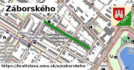 ilustrácia k Záborského, Bratislava - 301m