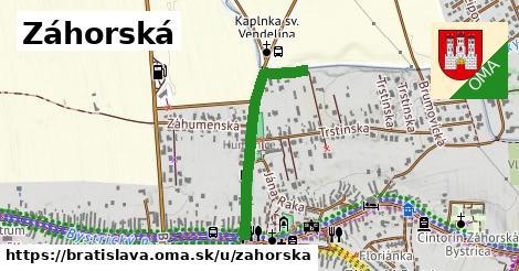 ilustračný obrázok k Záhorská, Bratislava