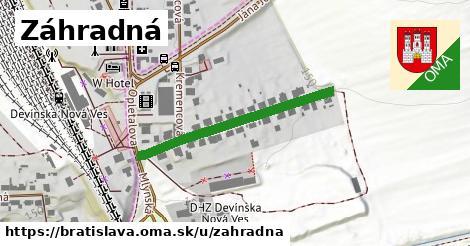 ilustrácia k Záhradná, Bratislava - 335m