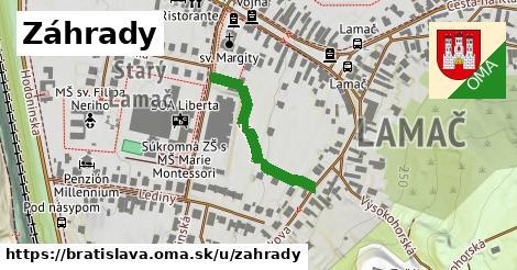 ilustrácia k Záhrady, Bratislava - 257m
