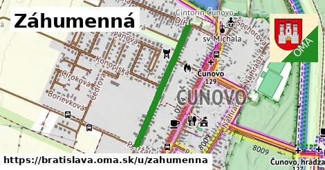 ilustrácia k Záhumenná, Bratislava - 615m