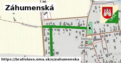 ilustrácia k Záhumenská, Bratislava - 273m
