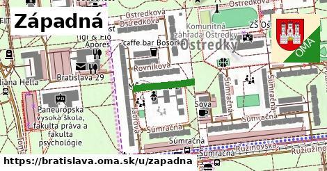 ilustrácia k Západná, Bratislava - 140m