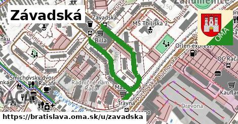ilustračný obrázok k Závadská, Bratislava