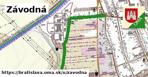 ilustračný obrázok k Závodná, Bratislava