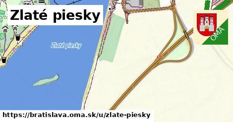 ilustrácia k Zlaté piesky, Bratislava - 2,5km