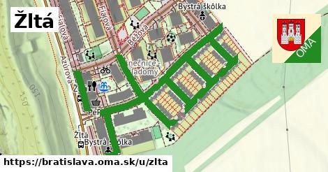 ilustrácia k Žltá, Bratislava - 349m