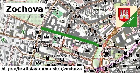 ilustračný obrázok k Zochova, Bratislava