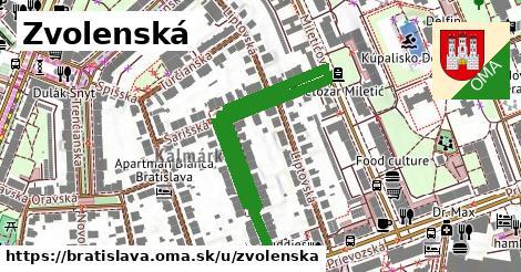 ilustrácia k Zvolenská, Bratislava - 0,74km