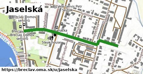 ilustrácia k Jaselská, Břeclav - 521m