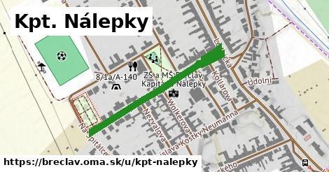 ilustrácia k Kpt. Nálepky, Břeclav - 424m