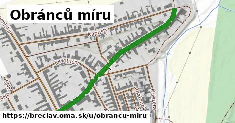 ilustrácia k Obránců míru, Břeclav - 505m