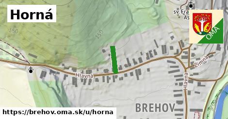 ilustrácia k Horná, Brehov - 208m