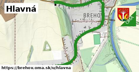 ilustrácia k Hlavná, Brehov - 2,00km