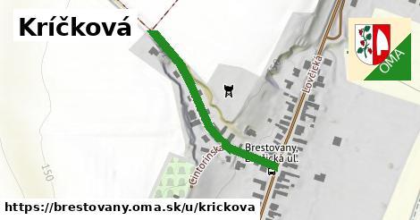 ilustrácia k Kríčková, Brestovany - 346m