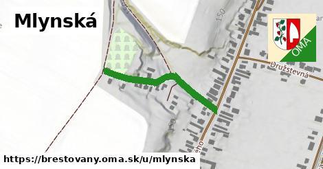 ilustrácia k Mlynská, Brestovany - 249m