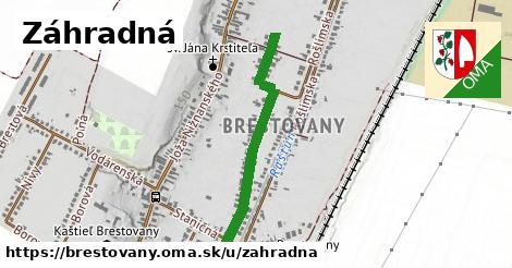 ilustrácia k Záhradná, Brestovany - 466m