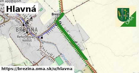 ilustrácia k Hlavná, Brezina - 630m