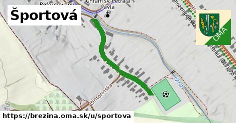 ilustrácia k Športová, Brezina - 515m