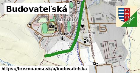 ilustrácia k Budovateľská, Brezno - 0,86km