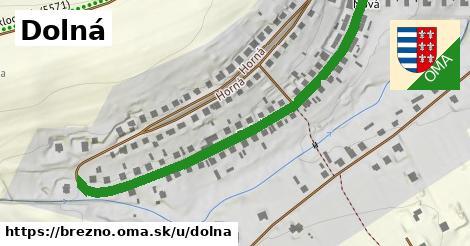 ilustrácia k Dolná, Brezno - 585m