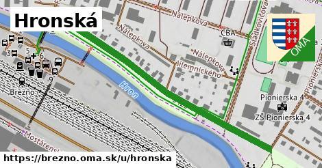 ilustrácia k Hronská, Brezno - 594m
