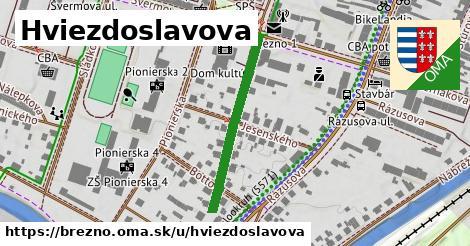 ilustrácia k Hviezdoslavova, Brezno - 285m