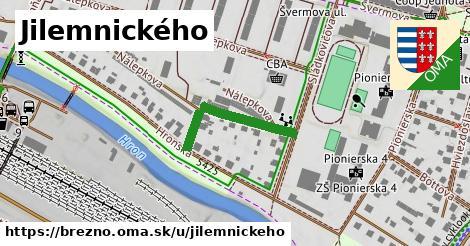 ilustrácia k Jilemnického, Brezno - 450m