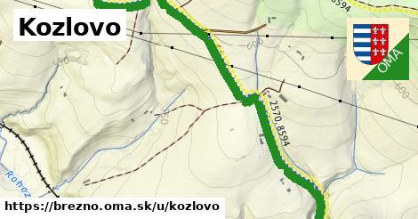 ilustračný obrázok k Kozlovo, Brezno