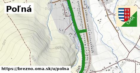 ilustrácia k Poľná, Brezno - 1,97km