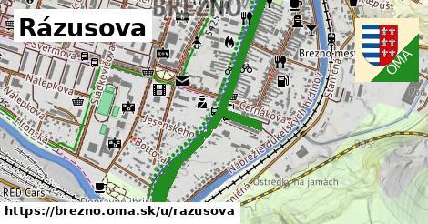 ilustrácia k Rázusova, Brezno - 1,09km