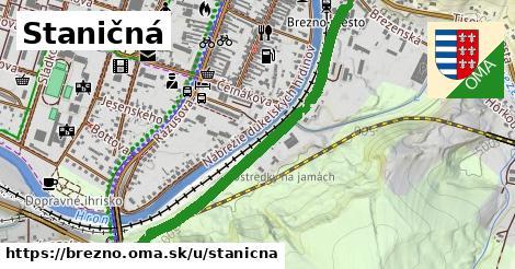 ilustrácia k Staničná, Brezno - 1,08km
