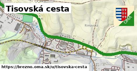 ilustračný obrázok k Tisovská cesta, Brezno