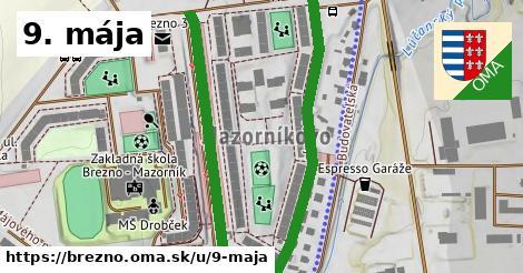 ilustrácia k 9. mája, Brezno - 1,11km