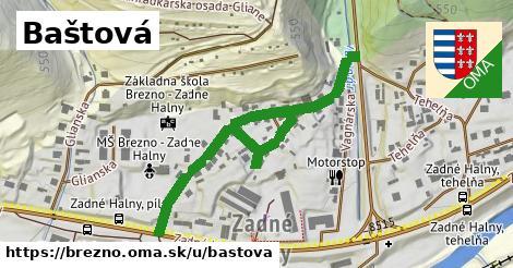 ilustrácia k Baštová, Brezno - 584m