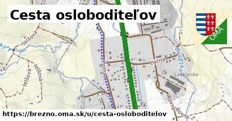ilustrácia k Cesta osloboditeľov, Brezno - 3,6km