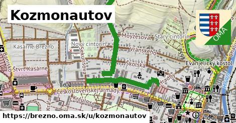 ilustrácia k Kozmonautov, Brezno - 1,09km