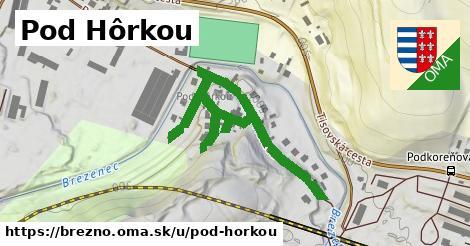 ilustrácia k Pod hôrkou, Brezno - 607m