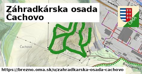 ilustrácia k Záhradkárska osada Čachovo, Brezno - 2,3km